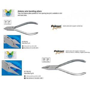 Instrumente pentru modelat arcuri folosite in ortodontia mobila