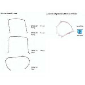 anatomical plastic rubber dam frame si rubber dam frame